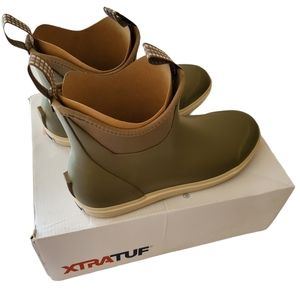 Xtratuf Women's Ankle Deck Boot Taupe